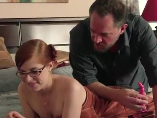 Eating cum from wifes pussy tubes