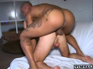 Adventurous blonde sex